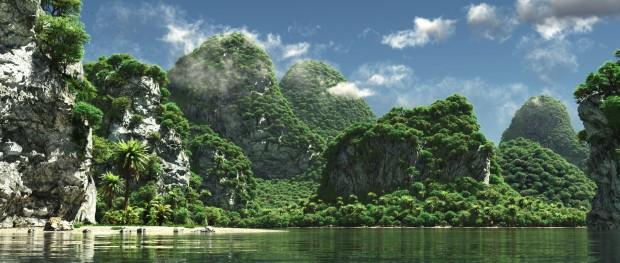 Image result for deserted jungle